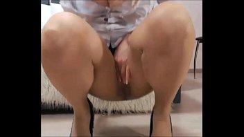 Sexy busty mature babe