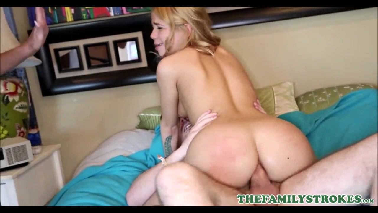 Big Butt Anal Teen Threesome